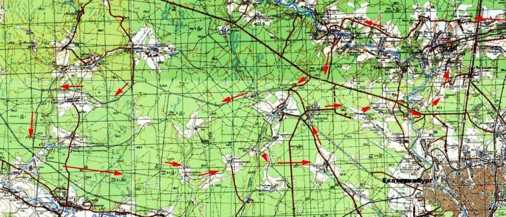 Маршруты, карты велопрогулок