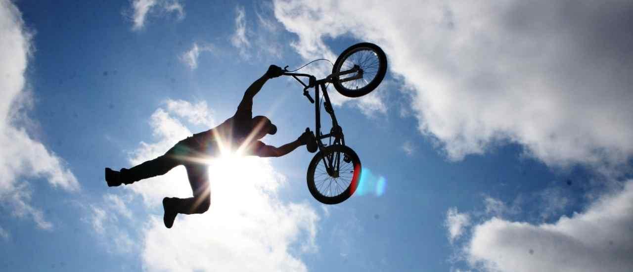 Трюки на велосипедах